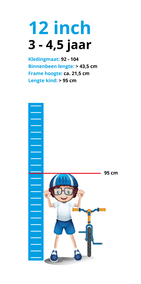 lengte kind 4 jaar