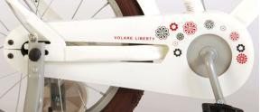 Volare Liberty Kinderfiets - Meisjes - 16 inch - Wit - 95% afgemonteerd