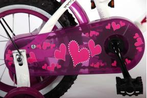 Volare Heart Cruiser 12 inch meisjesfiets