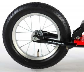 Volare Autoped 12 inch Zwart Rood