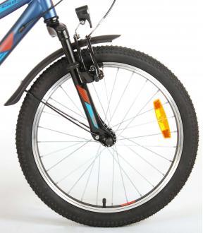 Volare Cross Kinderfiets - jongens - 20 inch - Donkerblauw - Shimano Nexus 3 versnellingen - Prime Collection