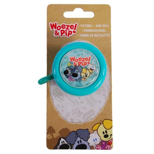 Woezel & Pip Fietsbel - Kinderen - Mint Blauw