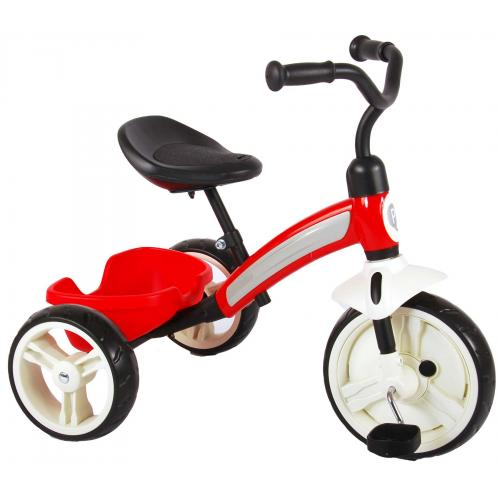 QPlay Elite driewieler rood
