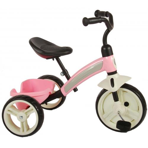 QPlay Elite driewieler roze