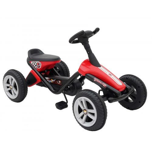 Volare Mini Skelter - Jongens en Meisjes - Rood