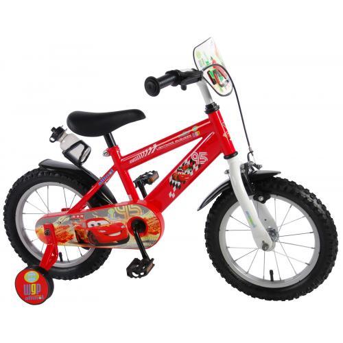 Disney Cars Kinderfiets - Jongens - 14 inch - Rood
