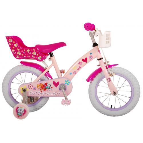 Paw Patrol Kinderfiets - Meisjes - 14 inch - Roze