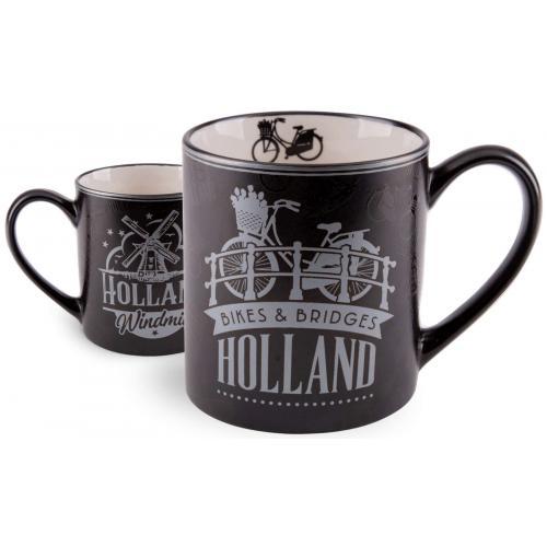 Beker - Holland - Zwart Zilver