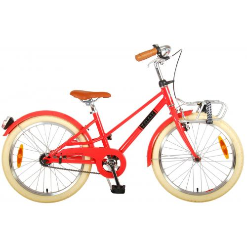 Volare Melody Kinderfiets - Meisjes - 20 inch - Pastel Rood - Prime Collection