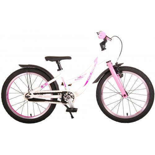 Volare Glamour Kinderfiets - Meisjes - 18 inch - Parelmoer Roze - Prime Collection