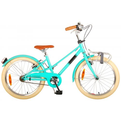 Volare Melody Kinderfiets - Meisjes - 20 inch - Turquoise - Twee Handremmen - Prime Collection
