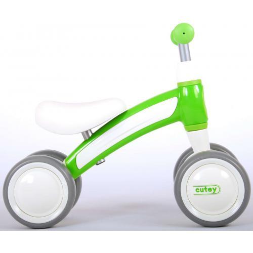 QPlay Cutey Ride On Loopfiets - Jongens en Meisjes - Groen