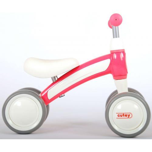 QPlay Cutey Ride On Loopfiets - Jongens en Meisjes - Roze