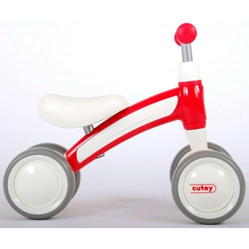 QPlay Cutey Ride On Loopfiets - Jongens en Meisjes - Rood