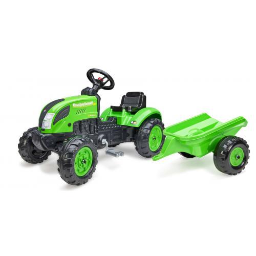 Falk Country Farmer - Jongens - Groen - Traptractor