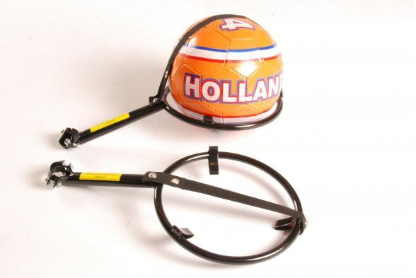 Voetbalhouder voor fietsen vanaf 16 inch