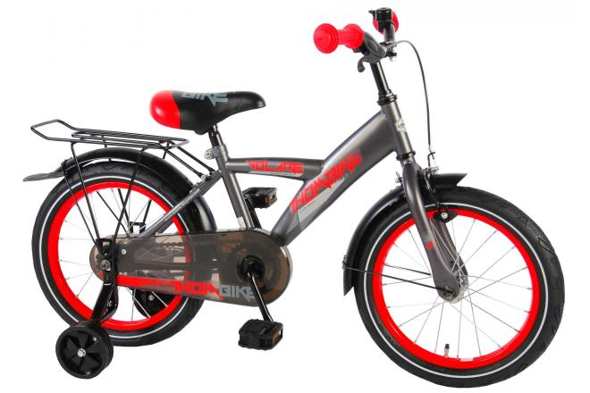 Volare Thombike City 16 inch jongensfiets Satin Grey Red 95% afgemonteerd