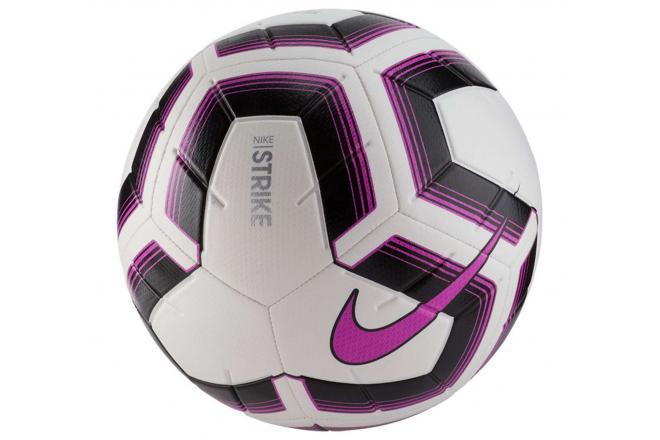 Voetbal Nike Striker Team wit-zwart-paars