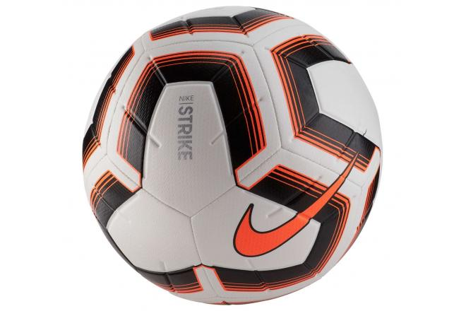 Voetbal Nike Striker Team wit-zwart-oranje