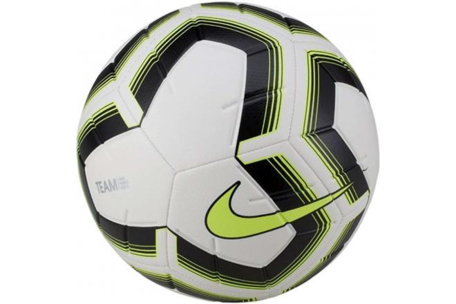 Voetbal Nike Striker Team wit-zwart-geel