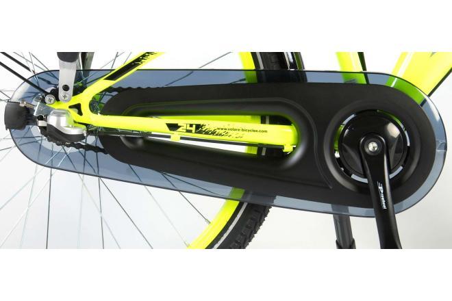 Volare Thombike City Shimano Nexus 3 24 inch jongensfiets Neon Geel 95% afgemonteerd
