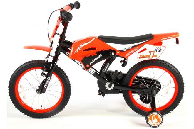 Volare Motorbike 16 inch jongensfiets 95% afgemonteerd