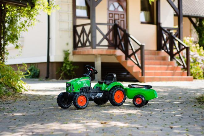 Falk Supercharger - Jongens - Groen - Traptractor
