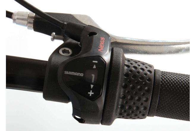Volare Rocky Kinderfiets - 24 inch - Zwart - Shimano Nexus 3 versnellingen - 95% afgemonteerd - Prime Collection