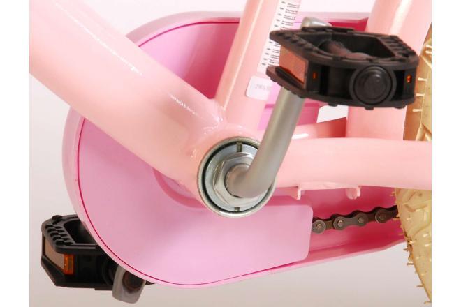 Volare Ashley Kinderfiets - Meisjes - 16 inch - Roze - 95% afgemonteerd