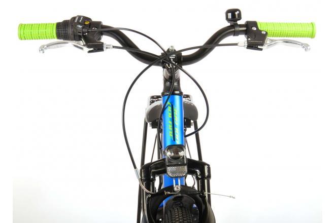 Volare Cross Kinderfiets - Jongens - 24 inch - Donkerblauw - 6 versnellingen - Prime Collection
