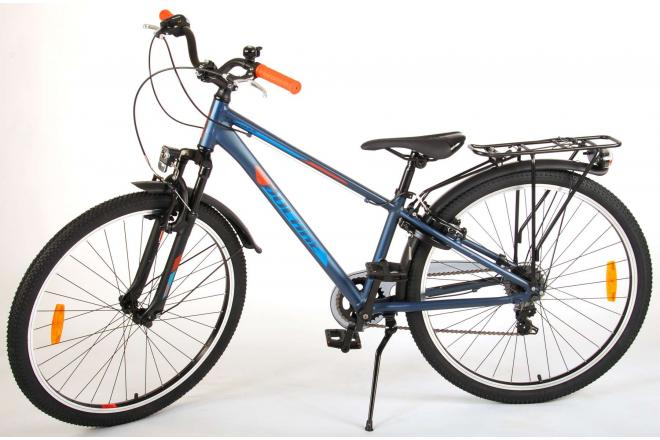 Volare Cross Kinderfiets - Jongens - 26 inch - Blauw Groen - 7 versnellingen - Prime Collection