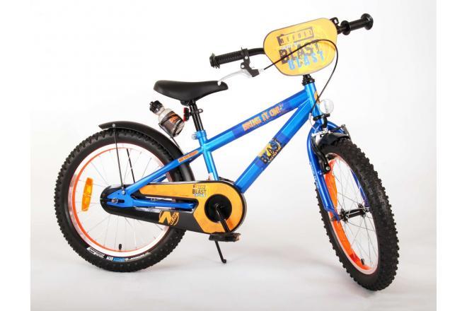 NERF Kinderfiets - Jongens - 18 inch - Satin Blue