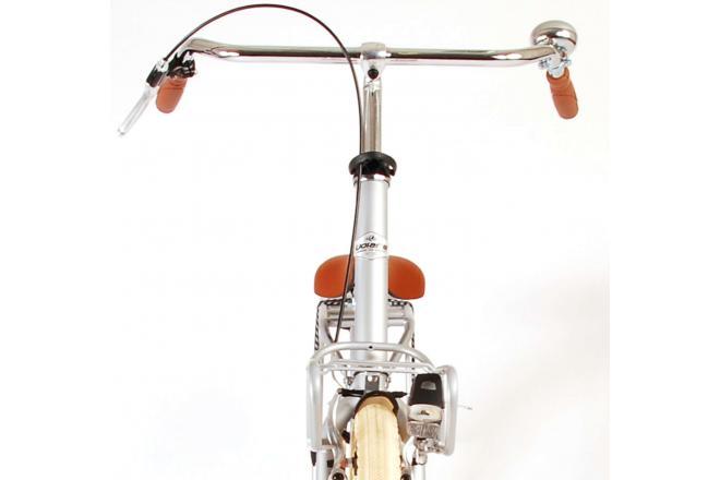 Volare Classic Oma Damesfiets - 28 inch - 51 centimeter - Mat Zilver