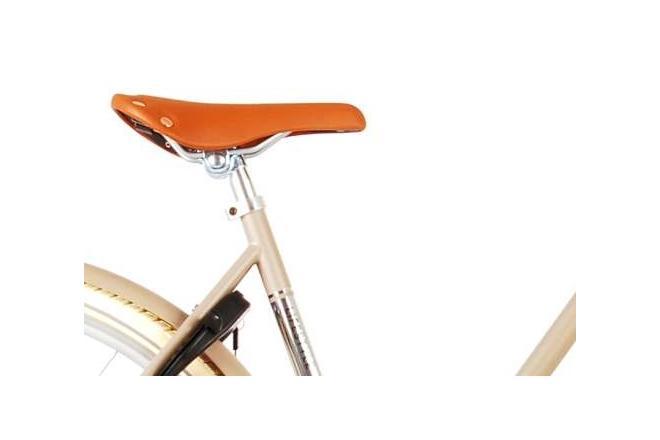 Volare Lifestyle Damesfiets - Vrouwen - 43 centimeter - Zand - Shimano Nexus 3 versnellingen