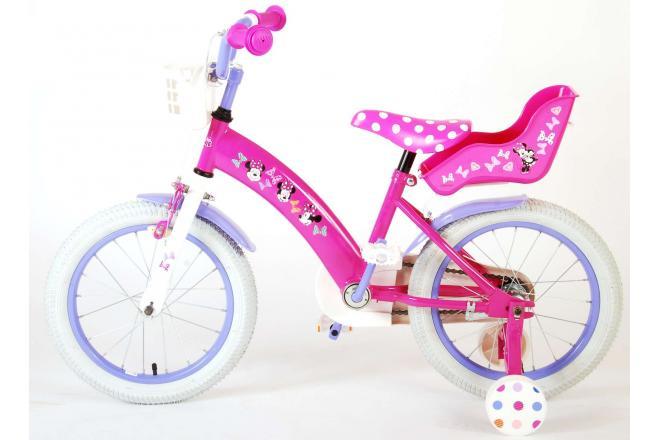 Disney Minnie Cutest Ever! Kinderfiets - Meisjes - 16 inch - Roze