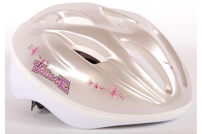 Volare Fietshelm - Skatehelm Deluxe roze Romantic 51-55 cm